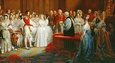 Koningin Victoria trouwt met haar Albert op 18 februari 1840 in Londen. (Foto: Wikimedia)