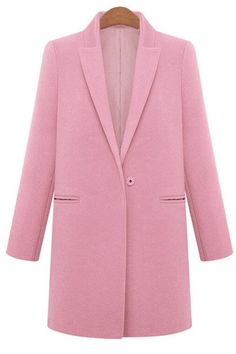 SHARE & Get it FREE   Simple Style Long Sleeves Turn-Down Collar Solid Color Worsted Women's CoatFor Fashion Lovers only:80,000+ Items • New Arrivals Daily • Affordable Casual to Chic for Every Occasion Join Sammydress: Get YOUR $50 NOW!