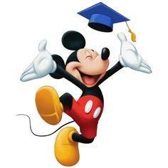 Mickey Mouse Graduation ❤ liked on Polyvore featuring disney, graduation and mickey mouse