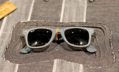 Ray-Bans made with denim