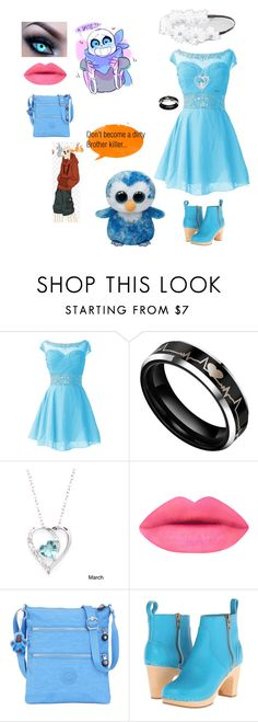 """""""Date with underswap sans"""" by cheergirl1798 ❤ liked on Polyvore featuring Fremada, Kipling, Swedish Hasbeens and Full Tilt"""