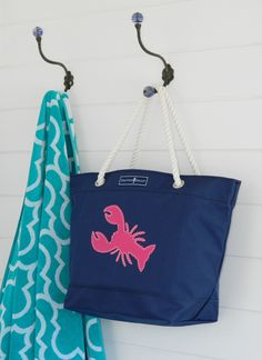Skipper Bags - Lobster Tote Bag