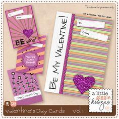 Valentine's Day Cards – Vol. 1