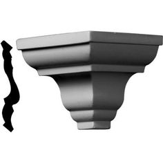 Ekena Millwork 3 in. x 3 in. x 3 in. Urethane Outside Corner Moulding (Matches Moulding Primed White Chair Rail Molding, Panel Moulding, Crown Molding, Modern Farmhouse Decor, Vintage Farmhouse, Outside Corner Moulding, Ceiling Finishes, Ceiling Materials, Moulding Profiles