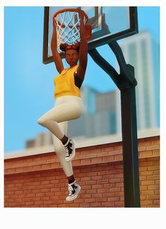 Dampei | Alley-oop ⎜athletic skill not required I saw this... Alley Oop, I Saw, Sims, Sporty, Athletic, Poses, Running, Image, Kunst