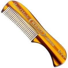 Kent - 73 mm Fine Toothed Moustache and Beard Comb Model No. cm L Extra Small Men's moustache and beard comb fine toothed moustache and beard comb This specialist comb is perfect for grooming, maintaining and trimming facial hair.