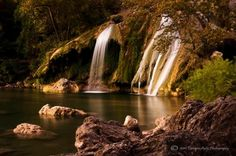Turner Falls in Oklahoma by Tamyra Ayles