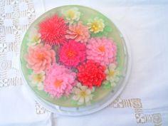 gelatina floral | Gelatinas Florales 3a Dimensión: GELATINAS FLORALES