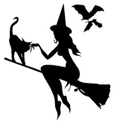 Good Witch Flying - Pumpkin Template - Real Time - Diet, Exercise, Fitness, Finance You for Healthy articles ideas Moldes Halloween, Casa Halloween, Manualidades Halloween, Holidays Halloween, Halloween Crafts, Halloween Decorations, Halloween Labels, Halloween Stuff, Halloween Pumpkins