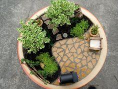 Living Miniature Garden por Janit