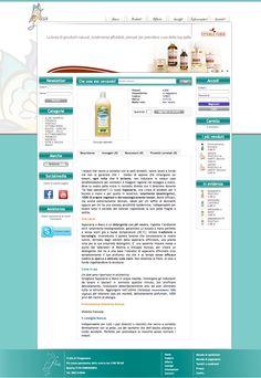 Sito web di eCommerce per Flaza - Scheda Prodotto - Realizzato con Opencart 1.4 - Anno 2012