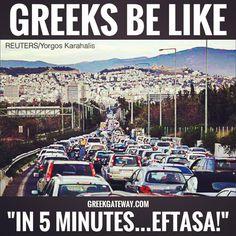 Greeks be like. Funny Greek Quotes, Greek Memes, Greek Sayings, Greek Girl, Bright Side Of Life, Greek Language, Greek Culture, Comic, Greek Words