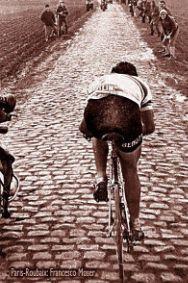 Dit soort ondergrond vergt het meeste kracht en concentratie van een fietser