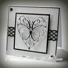 Memory Box LaRue Heart die (98255) from Emmas Cards UK blog