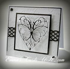 Memory Box LaRue Heart die (98255) from Emmas Cards UK blog
