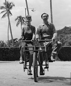 Walt Disney, and his wife Lillian