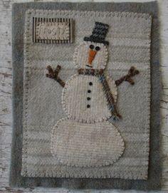 Primitive Junky: Snowman Frosty                                                                                                                                                                                 More