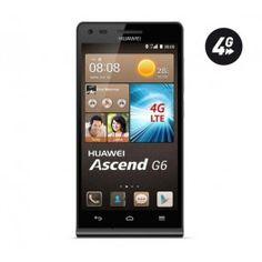 """Fonctionnant sous le système d'exploitation Android 4.3, le smartphone Huawei Ascend G6 intègre un processeur rapide Quad-Core 1,2 GHz et l'interface Emotion UI 2.0 Lite.Le stockage de vos données repose sur une mémoire interne ROM de 8 Go ou sur carte SD externe (jusqu'à 32 Go). Le mobile Ascend G6 de Huawai dispose d'un écran LCD tactile de 4,5"""" à technologie IPS. Ce téléphone portable peut lire les formats audio (MP3, AAC, Enhanced AAC...), vidéo (MP4, H.263, H.264...). Il est doté d'une…"""
