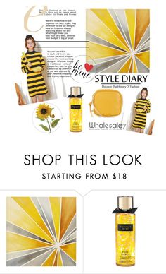 """""""Wholesale7/ Yellow Dress"""" by lee77 ❤ liked on Polyvore featuring Intelligent Design, dress, casualoutfit and woman"""