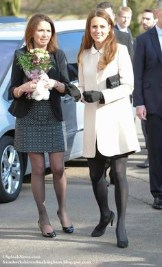 Pregnant Kate with Rebecca Deacon.  - Kate: From Berkshire to Buckingham