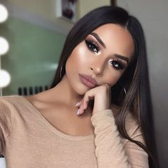 """4,295 Likes, 59 Comments - S A R A H Y D E L A R O S A (@iheart_sarahiiy) on Instagram: """"HI LOVES ❤ My New Years Glam is now up on my channel! GO WATCH IT! link in my bio …"""""""
