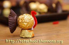 Thanksgiving Candy Turkeys « Shannon's Tot School