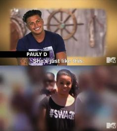 Pauly D and his stalker, rotfl this is why I love this guy<3