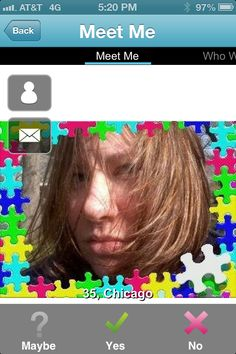 Puzzled look online dating picture