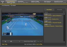 Watch live tennis today from France v Switzerland in the Davis Cup final, the Challenger Tour Finals & more! Full schedule here: www.livetennis.com/category/live-streams