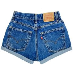 Levis High Waisted Cuffed Denim Shorts Rolled Up Denim Shorts Plain... ($29) ❤ liked on Polyvore featuring shorts, bottoms, pants, grey, women's clothing, destroyed jean shorts, high-waisted denim shorts, high waisted ripped shorts, distressed jean shorts and zipper pocket shorts