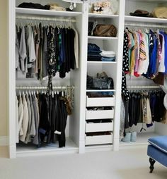 ikea billy bookcase closet ideas | Ikea Billy bookcase with glass doors Ikea Malm white dresser Ikea ...