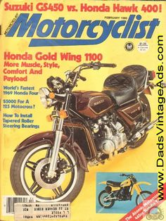 1980 Honda Gold Wing 1100 GL1000 Road Test/Specs – more muscle, style, comfort and payload