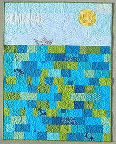 amazing. deep blue sea baby quilt #teaginny