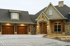 Two Sided Fireplace, Timber Homes, Bonus Rooms, Open Layout, Home Upgrades, New House Plans, Cozy Cottage, Sliding Glass Door, The Fresh
