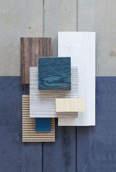 Different wood tones