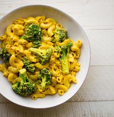 My Best Vegan Mac 'n Cheese with Broccoli.