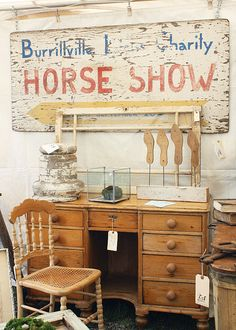 Attend a Brimfield Antique Show & Flea Market - 3x year in Brimfield, Mass (Over a 1,000 vendors)
