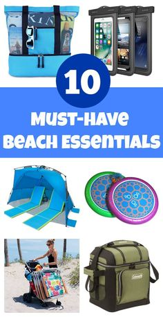 Headed to the beach? Then it's time to start putting together your beach vacation packing list. Here are 10 things not to leave off your beach packing list. Beach Vacation Packing List, Packing List For Travel, Beach Vacations, Beach Travel, Packing Tips, Vacation Ideas, Vacation Food, Packing Checklist, Beach Camping