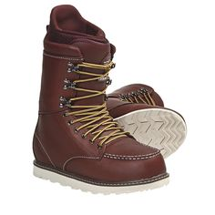 $249.95 Burton Rover Limited Snowboard Boots (For Men) in Portage - I could rock these if I wanted to since I comfortably rock a women's sz9. ;)