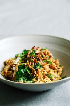 Pilaf with chickpeas and fresh herbs | KRAUTKOPF