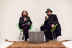 Thérèse Willer et Tomi Ungerer en   © HEAD – Genève, Samuel Lecocq