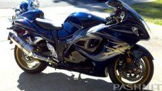 Blue on Gold 2008 , Suzuki Hayabusa GSX1300R, ,  http://www.PashnitBusa.com #hayabusa #pashnit