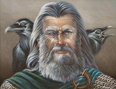Portrait of Odin by *Wolverat on deviantART