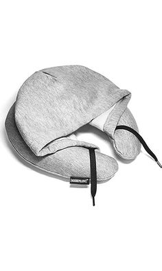 HoodiePillow Brand (Inflatable) Travel Hoodie Pillow - Gray Best Price