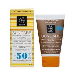 Crema facial de color SUNCARE antimanchas SPF50 – Alta protección