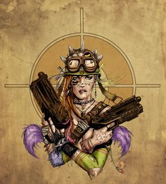 Tank Girl - Malek Acar colors by Alexasrosa