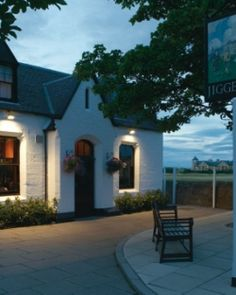 The Jigger Inn- Sits on the famous Road hole.