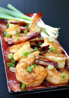 Asian Shrimp Cocktail - perfect for appetizers or a light dinner!