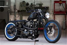 DP Custom's 73 DP Customs makes old school choppers look fresh. They also use Ironhead engines primarily which are my favorite Harley hearts.