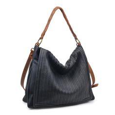 3b05105ec Bag Type: Hobo - Material: Faux Leather - Closure: Zipper - Exterior
